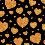 Glitter hearts - DeinDesign