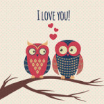 Loving Owls - DeinDesign