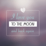 To the Moon and back again - DeinDesign